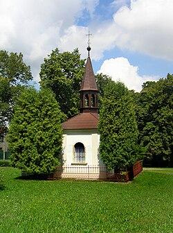 Černíny, Zdeslavice, chapel.jpg