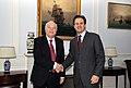 Συνάντηση ΥΠΕΞ Δ. Δρούτσα με τον τέως ΥΠΕΞ της Ισπανίας Μ. Α. Moratino - Meeting of FM D. Droutsas with former Spanish FM M. A. Moratino (5427988702).jpg