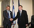 Συνάντηση ΥΦΥΠΕΞ Κυρ. Γεροντόπουλου με τον Υφυπουργό Εξωτερικών του Ισραήλ Z. Elkin (14091805436).jpg