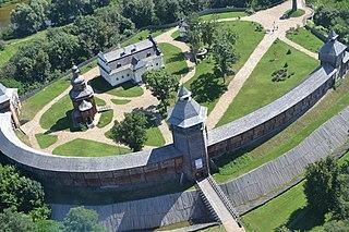Baturyn Fortress Citadel Open-air museum in Baturyn, Ukraine