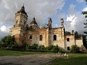 Sokal Raion - Image: Варяж. Костел Святого Марка