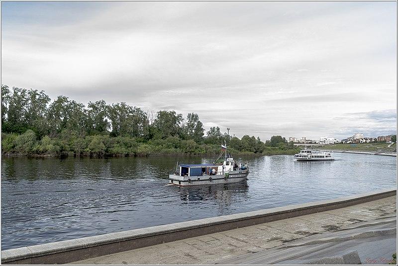 File:Вид набережной Туры - panoramio.jpg