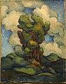 Владимир Давидович Баранов-Россине Пейзаж с деревом на фоне облаков.jpg