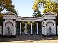 Кентау. Ворота старого парка. 2007.10.JPG