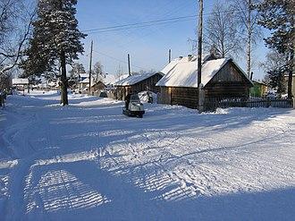 Murmansk Oblast - In Krasnoshchelye, a village on the Ponoy River
