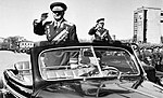 Маршал Советского Союза А. И. Ерёменко на первомайском параде. Кадр 2.jpg