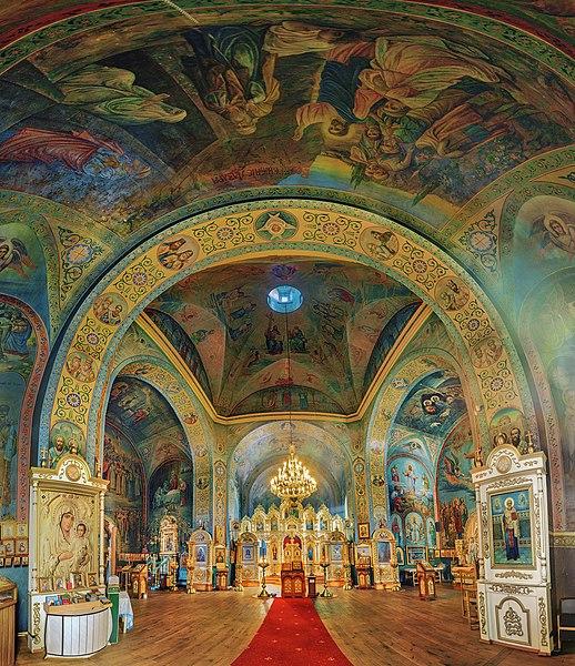 File:Панорама інтер`єру Спасо-Преображенської церкви.jpg