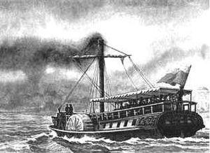 Charles Baird (engineer) - Elizaveta, the first Russian steamship