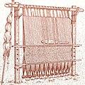 Реконструкция вертикального ткацкого станка с Фарерских островов.jpg
