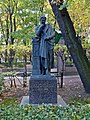 Санкт-Петербург, Тихвинское кладбище, могила Ю.М. Юрьева.JPG