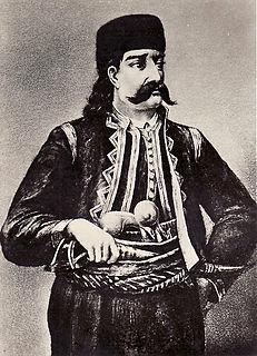 Stanoje Glavaš Serbian hajduk and commander in the First Serbian Uprising
