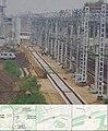 Строительство 4 главного пути Реутово - Железнодорожная (15006497450).jpg