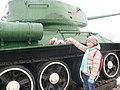 """Танк Т-34. Мемориал """"Линия обороны"""".jpg"""