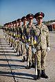 Тренування Нацгвадійців до параду військ з нагоди 25-ї річниці незалежності України IMG 6060 (28964959701).jpg
