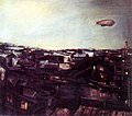 Ю. П. Щукин. Дирижабль над городом.jpg