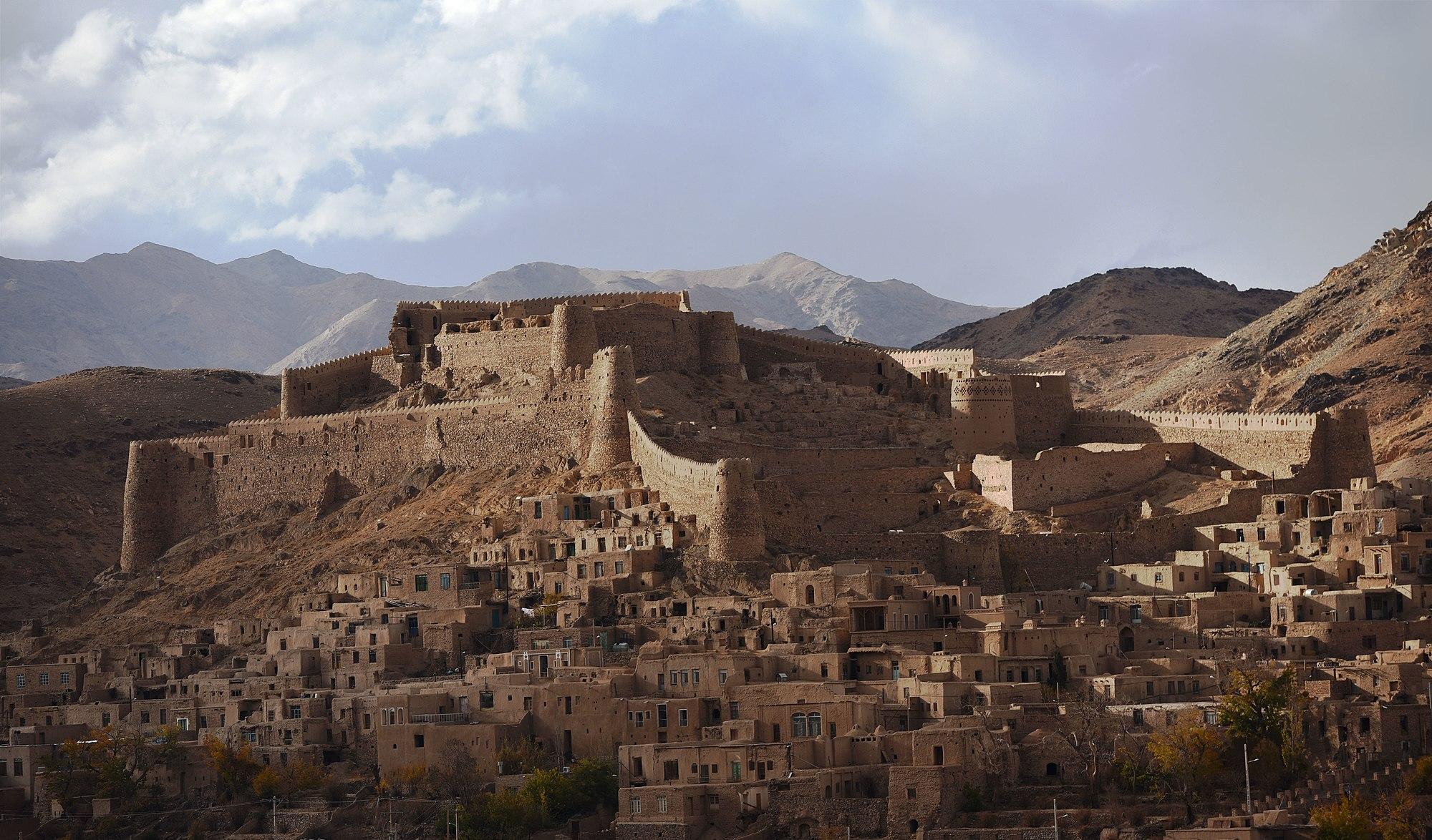 قلعه تاریخی فورگ (قلعه میرزا رفیع خان)