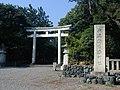 新潟市護国神社一の鳥居 2010年8月 - panoramio.jpg