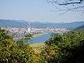 猫岳頂上より望む川内川と市街地 - panoramio.jpg