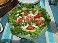 -2014-06-09 Tomato, Herb and mozzarella salad, Trimingham.JPG
