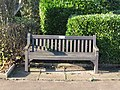 -2018-12-17 Longshot of Peters dedicated bench, North Lodge Park, Cromer (2).JPG