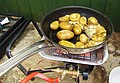-2021-05-30 Pan fried sauteed new potatoes in butter and garlic, Trimingham, Norfolk.JPG