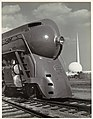 -Locomotive, with Entrance to Perisphere of 1939 New York World's Fair in Background- MET DP103141.jpg