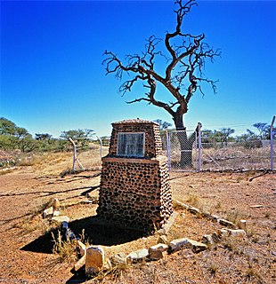 Barkly West Place in Northern Cape, South Africa