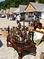 003188 Flohmark am Galizischer Marktplatz in Sanok.JPG