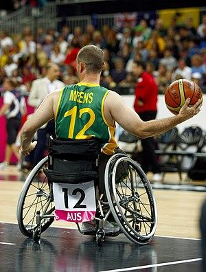 Grant Mizens - Mizens at the 2012 London Paralympics
