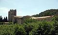 096 Abadia de Santa Maria, façana est, vora l'Orbieu.jpg