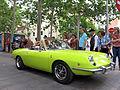 097 Fira Modernista de Terrassa, desfilada de cotxes d'època a la Rambla.JPG