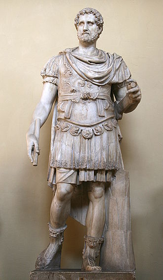 Antoninus Pius - Statue of Antonius Pius in military garb and muscle cuirass, from the Museo Chiaramonti (Vatican Museums).
