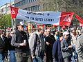 1. Mai 2013 in Hannover. Gute Arbeit. Sichere Rente. Soziales Europa. Umzug vom Freizeitheim Linden zum Klagesmarkt. Menschen und Aktivitäten (153).jpg