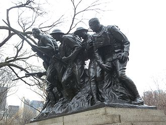 107th Infantry Regiment (United States) - 107th Infantry Memorial