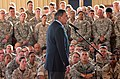 111213-F-VK137-117 Leon Panetta addresses U.S. Service members at Camp Lemonnier, Djibouti.jpg