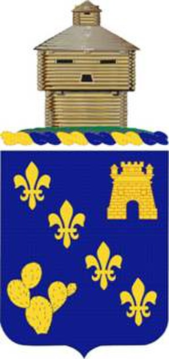 129th Infantry Regiment (United States) - Image: 129Regt COA
