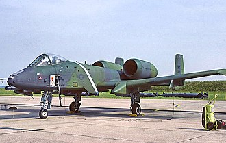 174th Attack Wing - A 138th TFS A-10A Thunderbolt II 78-0670