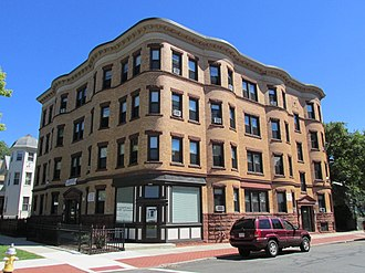Calhoun Apartments - Image: 1391 Dwight Street, Springfield MA