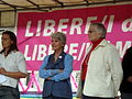 1520 - Arcilesbica, Dell'Orto, Paola e De Santis, Rita al BiellaPride 2008 - Foto Giovanni Dall'Orto, 14-June-2008.jpg