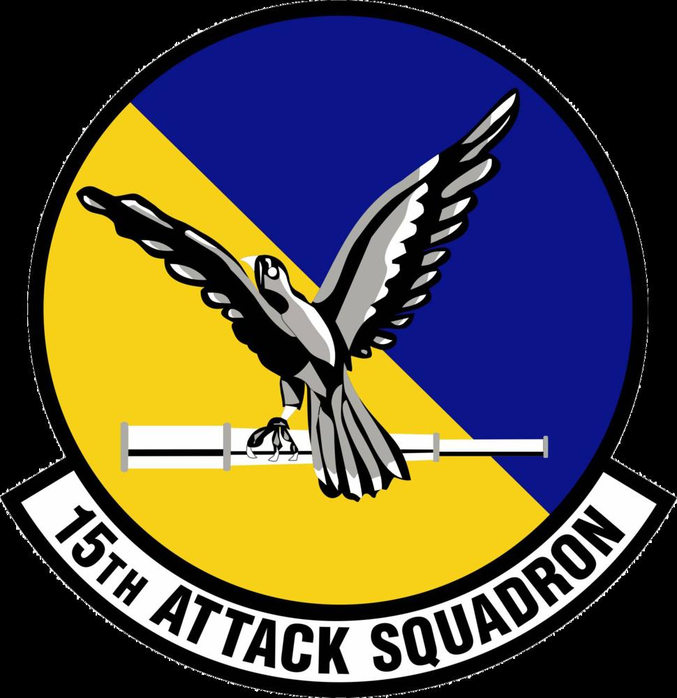 15th Attack Squadron Emblem