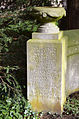 1779-1858 Geheimer Kabinettsrat Stadtdirektor Georg Ernst Friedrich Hoppenstedt, Gartenfriedhof Hannover, Ehreninschrift Stadtfriedhof Engesohde.jpg