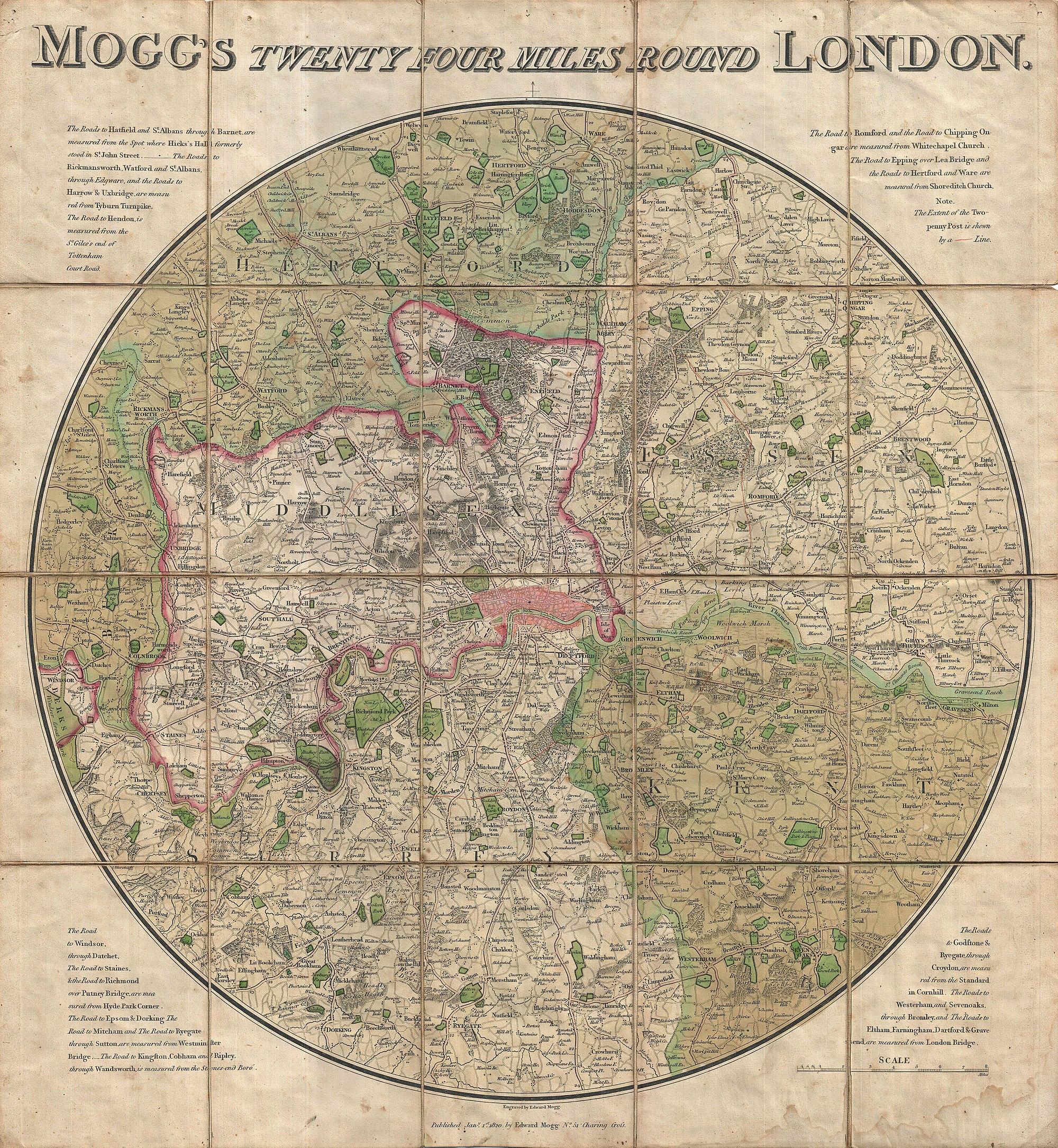 Map Of England 1800.Addlestone Wikipedia