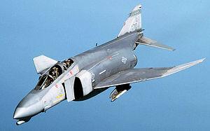 アメリカ空軍のF-4D