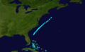 1865 Atlantic tropical storm 3 track.png