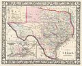 1866 Mitchell Map of Texas - Geographicus - Texas-mitchell-1866.jpg