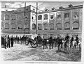 1871-01-30, La Ilustración de Madrid, El rey pasa revista al cuarto montado de artillería en el cuartel de San Gil, Pellicer.jpg
