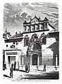 1872-03-16, La Ilustración Española y Americana, Toledo, Fachada de la iglesia de Santa Cruz, hoy Escuela central de Tiro.jpg