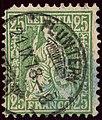 1878 25c Helvetia Fluntern Yv45 Mi32.jpg