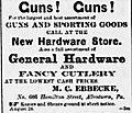 1882 - M C Ebbecke Newspaper Ad Allentown PA.jpg