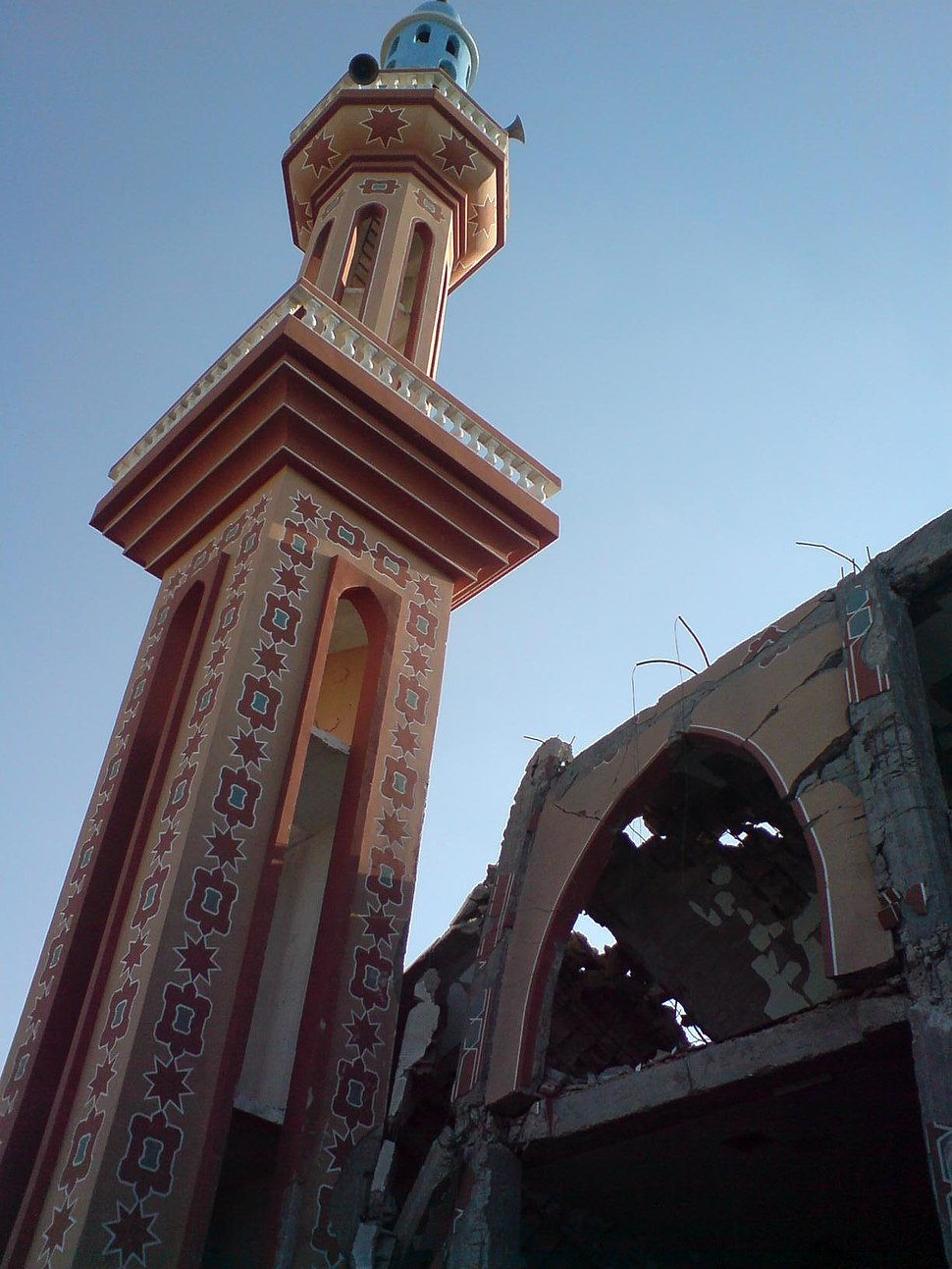 18 - Destroyed mosque